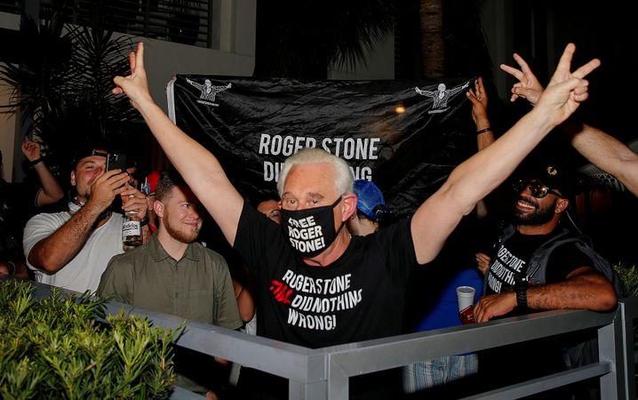 Stone nach Trumps Bekanntgabe
