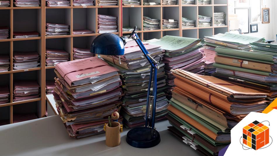 Büro in Berliner Sozialgericht: Weniger als 14 Prozent der Beschäftigten des Landes Berlin sind technisch in der Lage, im Homeoffice zu arbeiten