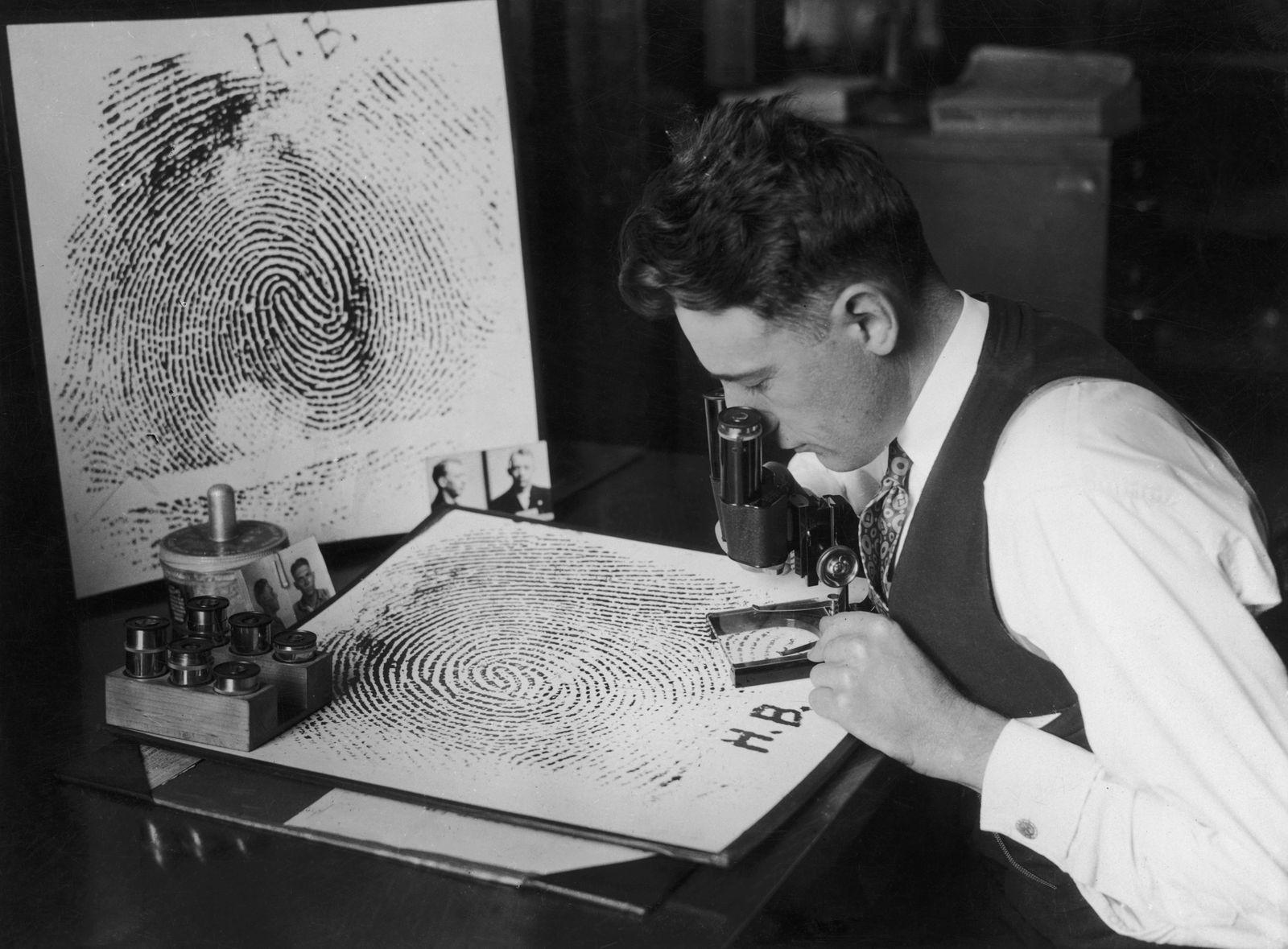 Forensik - Fingerprint Enlargements