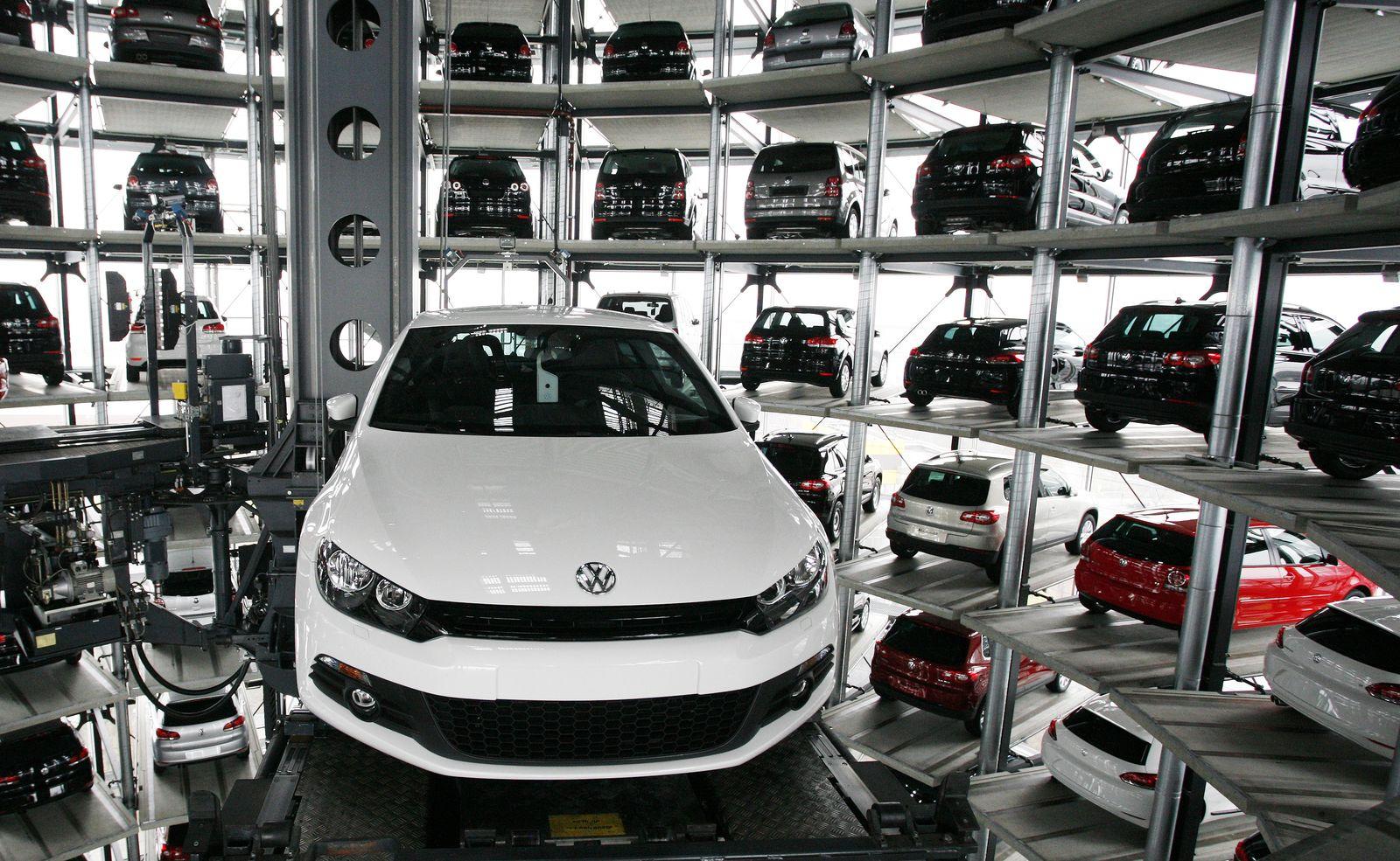 Volkswagen/ Auslieferungsturm Autostadt