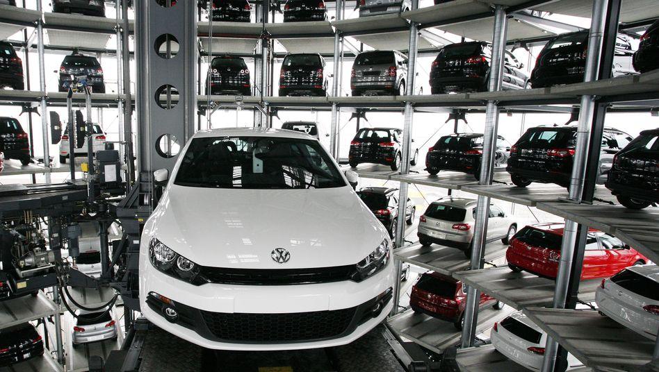 """CarTower in Wolfsburg: """"An der Marke VW zeigt sich, wie schwierig der Markt ist"""""""