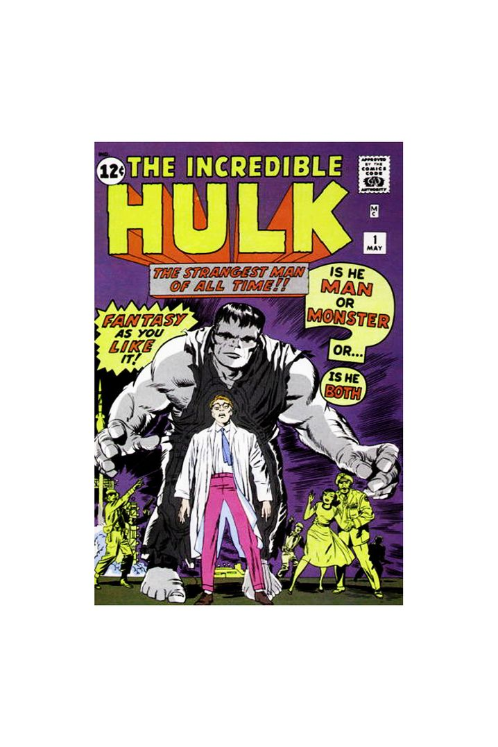 Im Mai 1962 erschien erstmals: Hulk