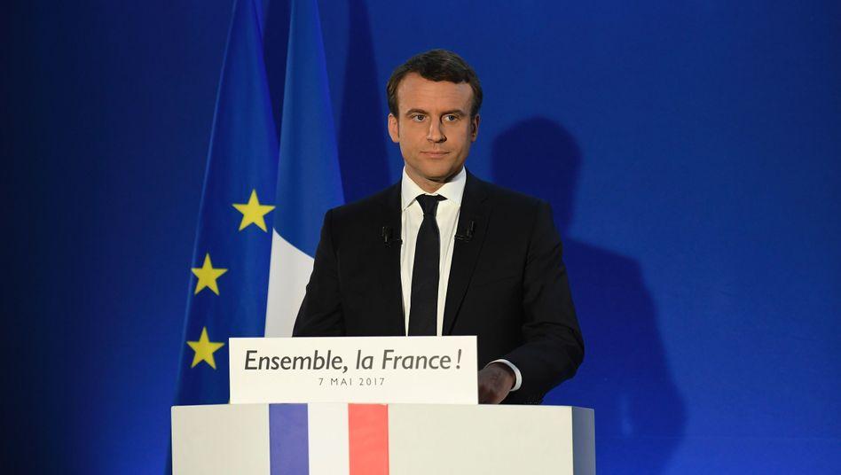Hochrechnung Wahl Frankreich Heute