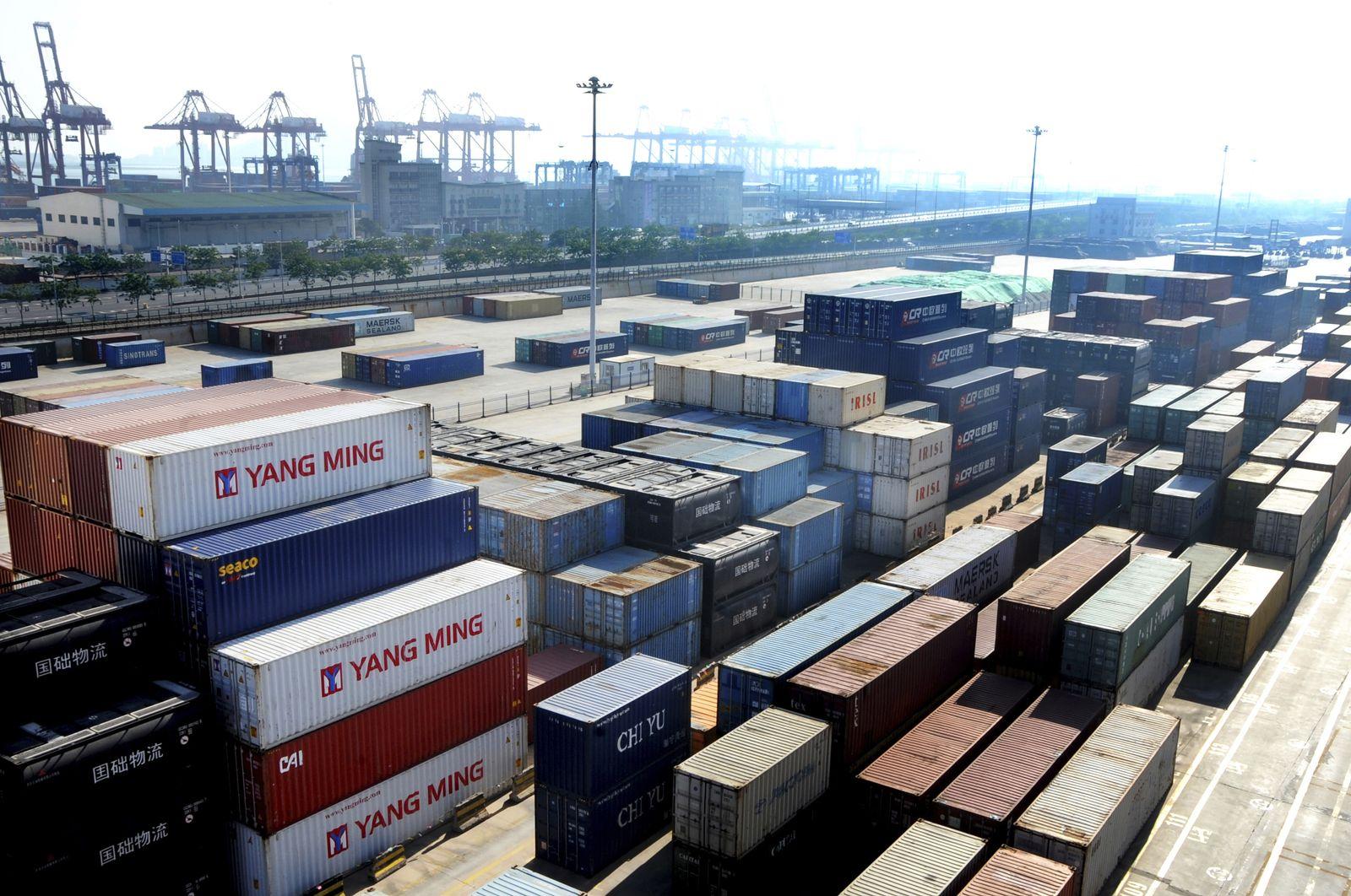 China / USA / Handel / Konjunktur / IMPORT / EXPORT