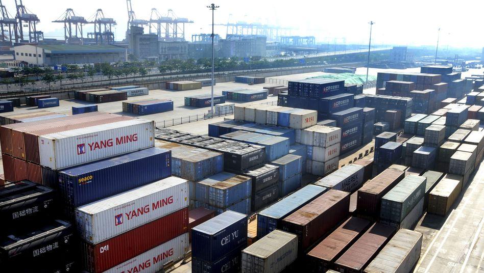 Hafen von Lianyungang (China)