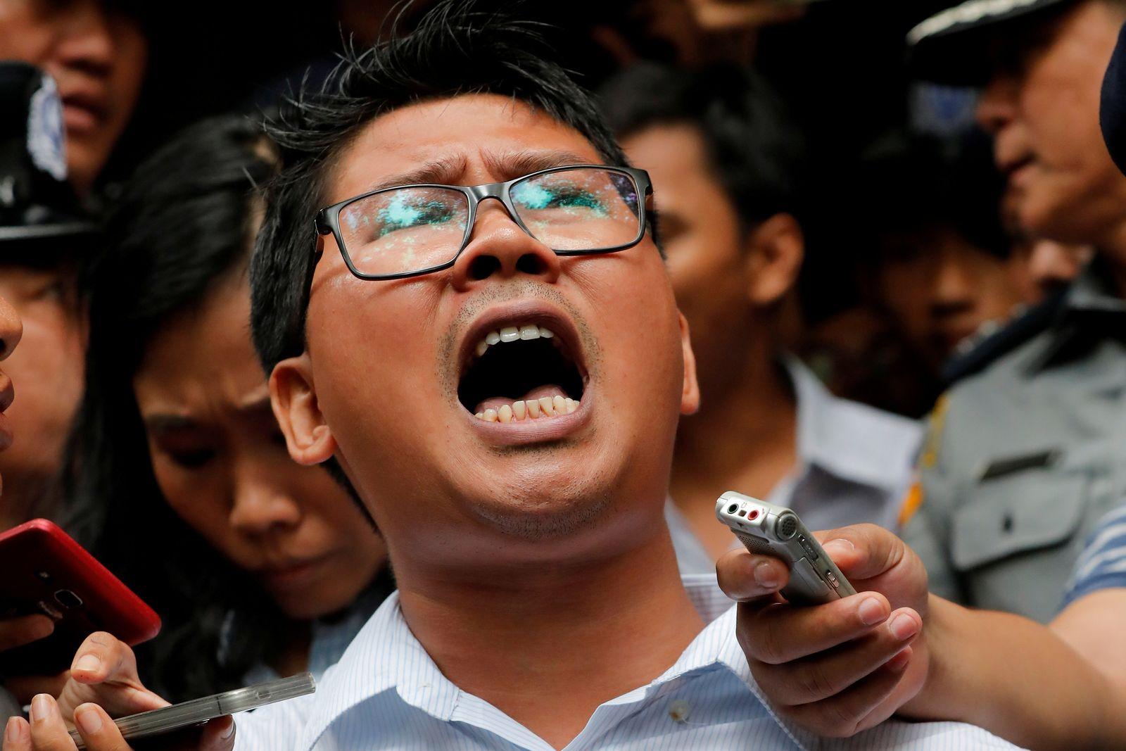 Myanmar/ Journalisten/ Gericht