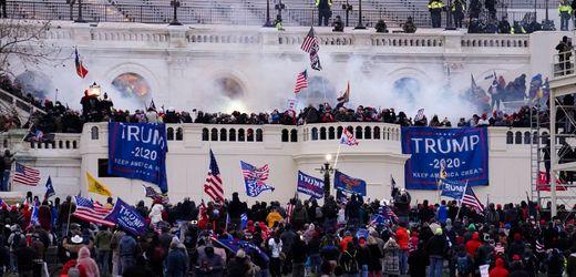 Sturm auf das US-Kapitol: Neuer Bericht belastet Kapitolspolizei schwer