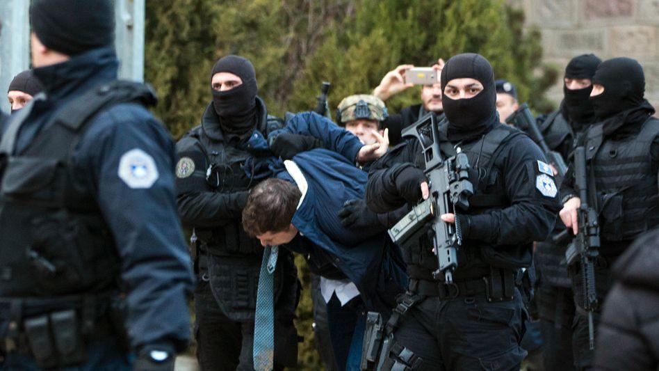 Festnahme von Marko Djuric