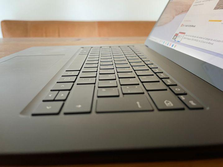 Die hervorragende Tastatur