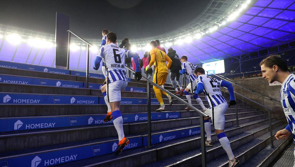 Profis von Hertha BSC