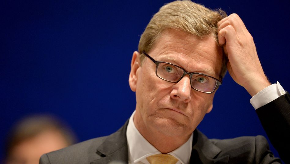 German Foreign Minister Guido Westerwelle. Germany is worried that fears over chemical weapons could lead to military intervention in Syria.