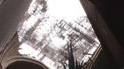 So sieht es jetzt im Inneren von Notre-Dame aus