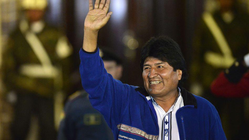 Bolivien: Morales erklärt sich zum Wahlsieger