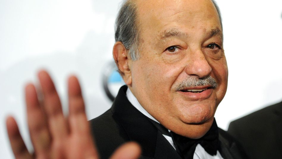 Carlos Slim 2014 bei einer Gala in New York: Aktionär bei US-Traditionsblatt