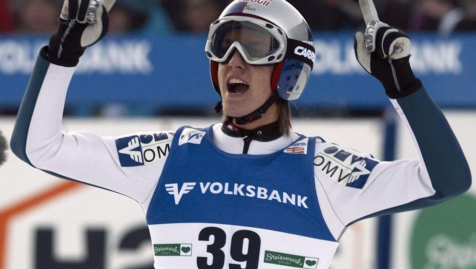 Sprungstar Schlierenzauer: Start bei der Vierschanzentournee stark gefährdet