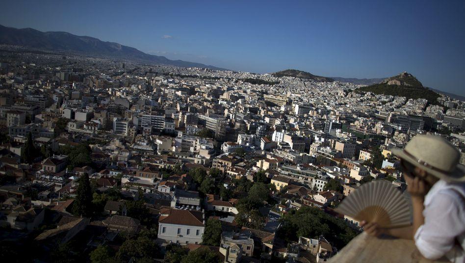 Blick über Athen: Kampf gegen die Wirtschaftskrise