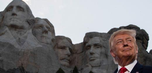 Donald Trump: Joe Biden beerdigt Plan für einen »Nationalen Heldengarten«