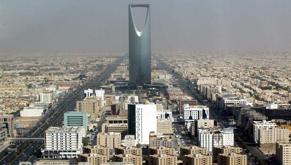 Das Zentrum von Riad (Archivbild)