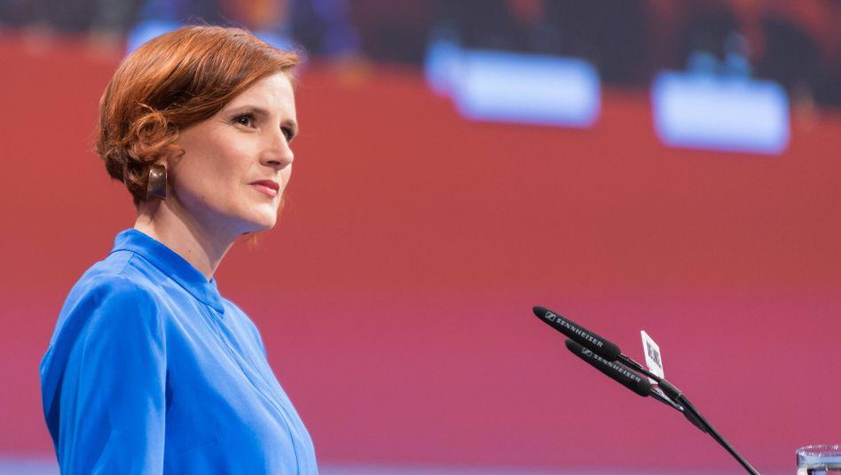 Linken-Parteichefin Katja Kipping