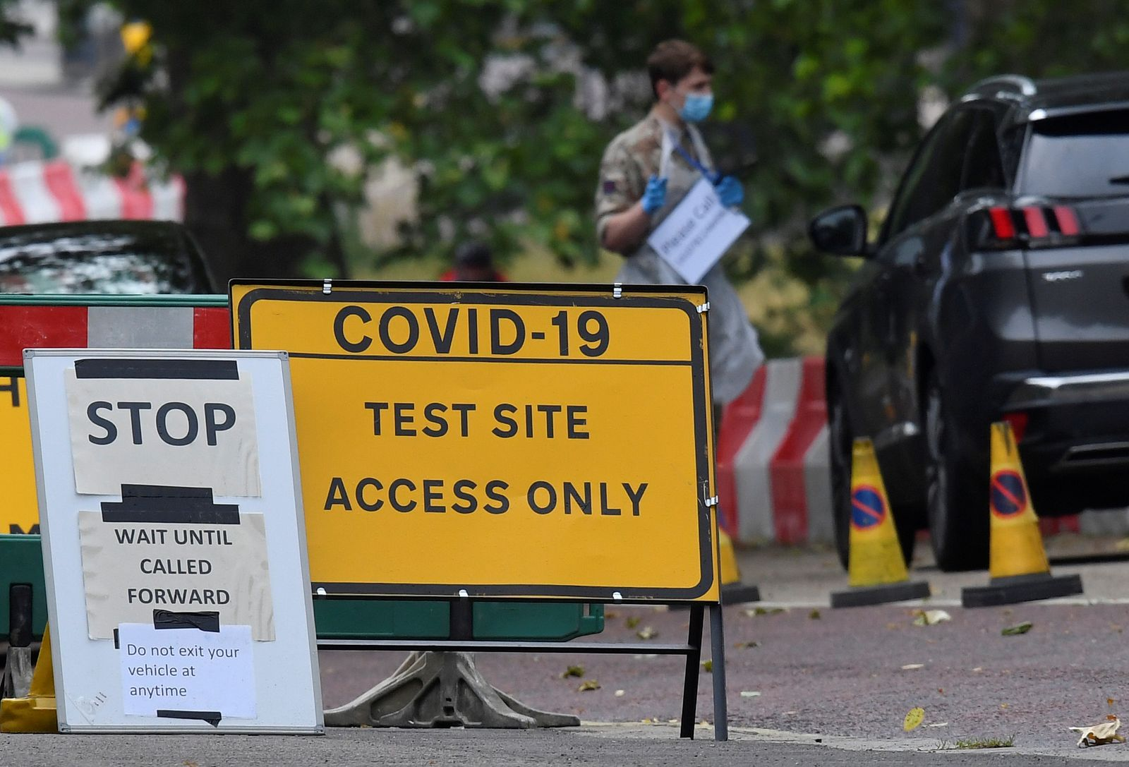 Outbreak of the coronavirus disease (COVID-19) in London