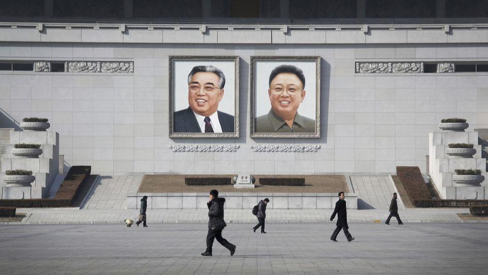 Kim-Il-Sung-Platz in Pjöngjang
