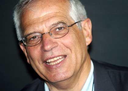 Zum EU-Parlamentspräsidenten gewählt: Josep Borell