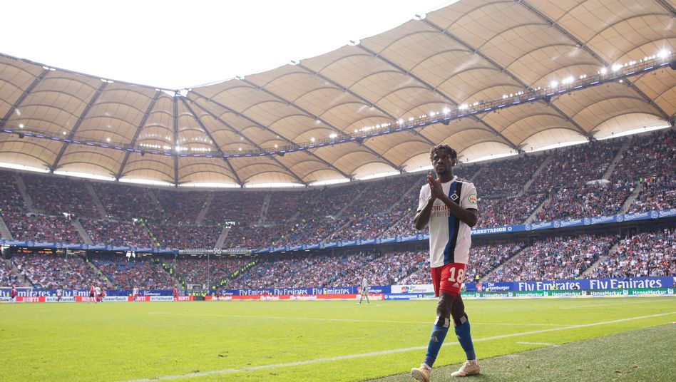HSV-Profi Bakery Jatta kam aus Gambia nach Deutschland