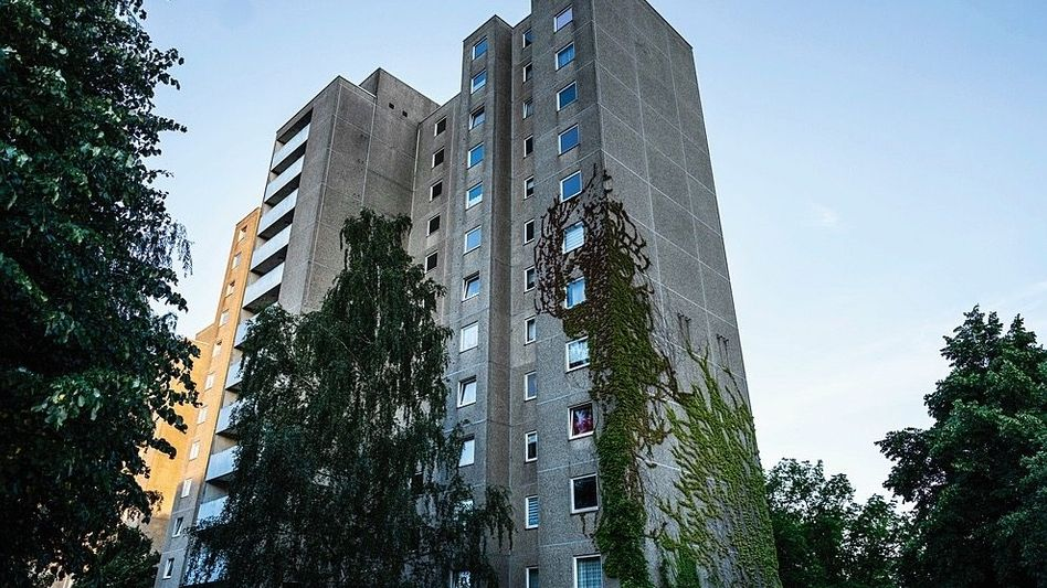 Wohnblock in Berlin-Neukölln, in dem Roman W. gewohnt hat