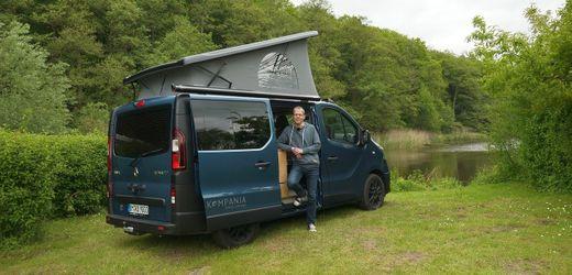 Kompanja-Van: Campingbus mit rustikaler Ausstattung