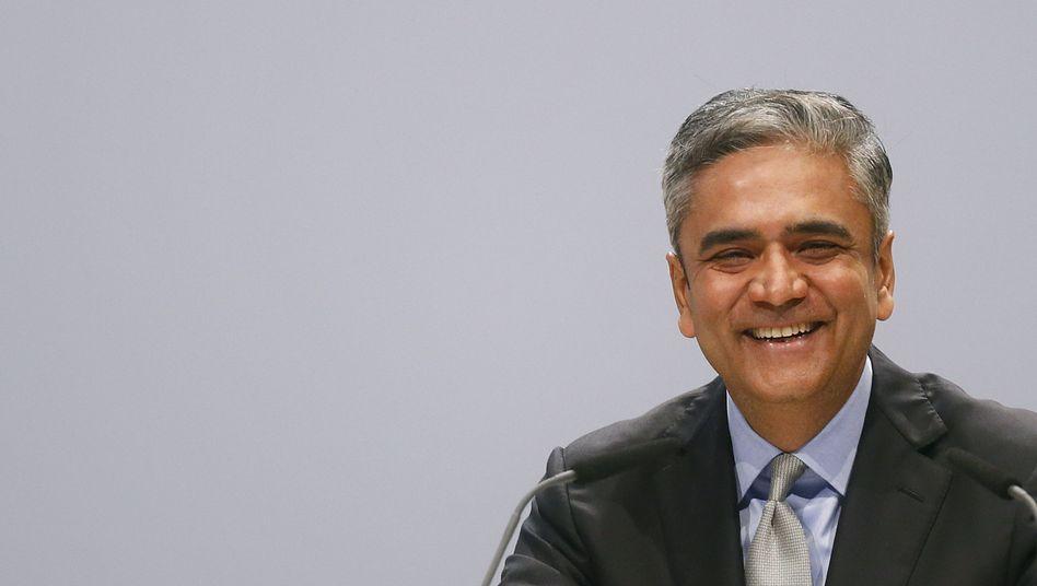 Aktionärstreffen der Deutschen Bank: Jain bewirbt sich um die Alleinherrschaft