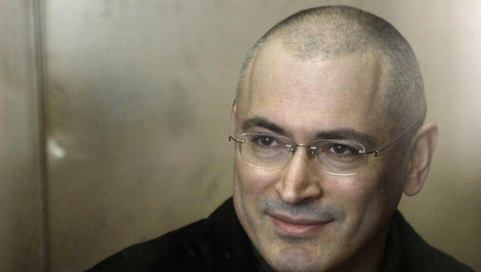 Angeklagter Chodorkowski: Entscheidung erst in den Neujahrsferien