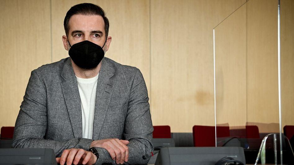 Christoph Metzelder am Donnerstag vor Gericht