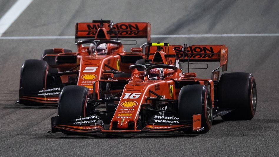 Charles Leclerc überholt Sebastian Vettel - nur im Rennen oder auch im Team?