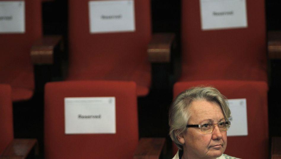 Annette Schavan: Bildungsministerin im Titelkampf