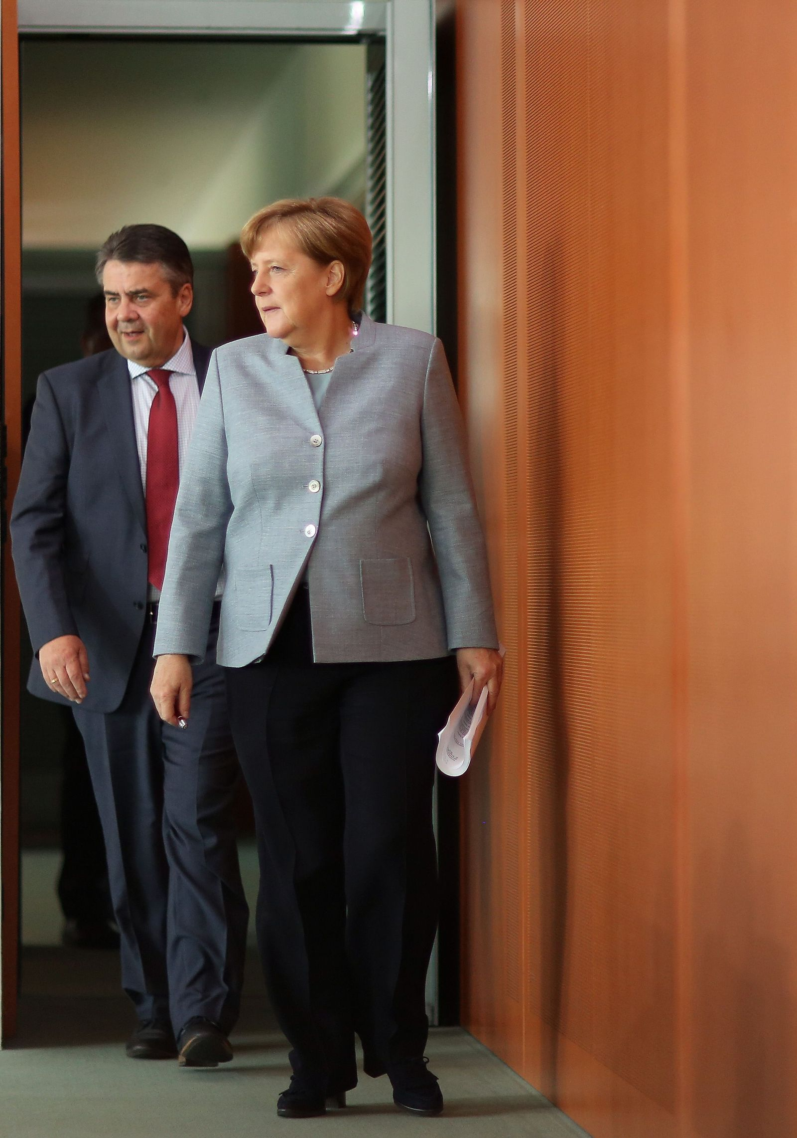 Gabriel & Merkel