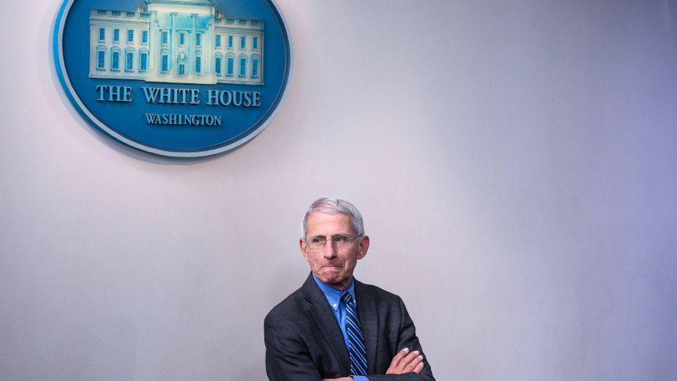 Anthony Fauci (Archivbild): Berater von Präsident Joe Biden warnt vor neuer Variante