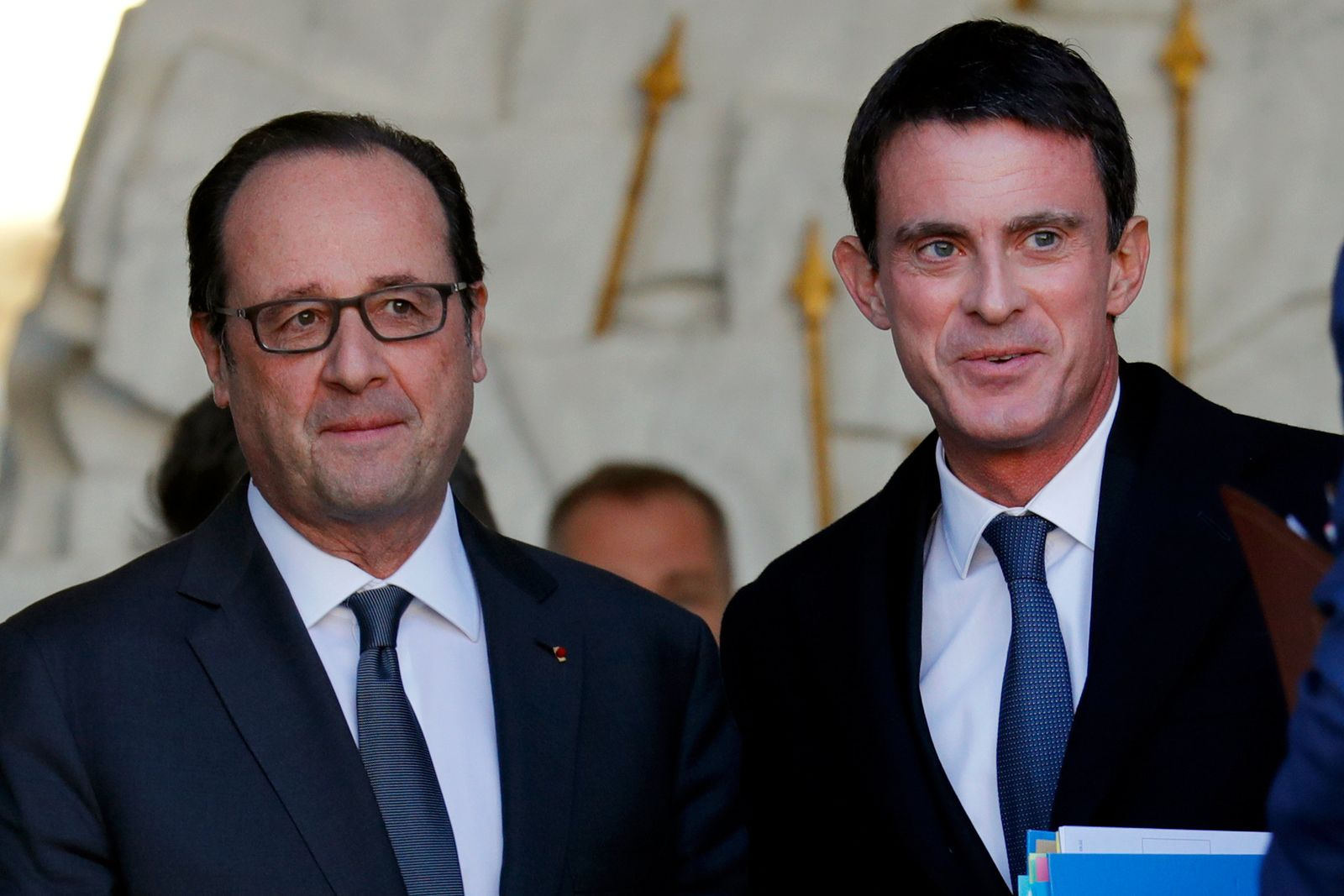 Francois Hollande / Manuel Valls