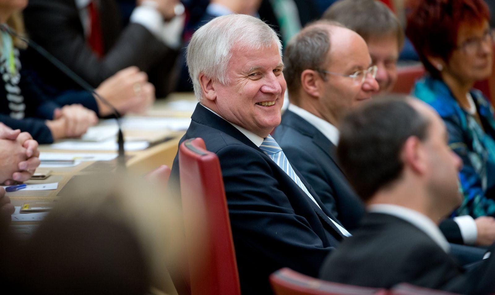 Landtag Bayern/ Horst Seehofer