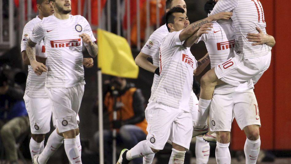 Inter-Jubel: Dritter Sieg nacheinander in der Serie A