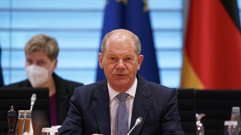 Finanzminister und SPD-Kanzlerkandidat Olaf Scholz