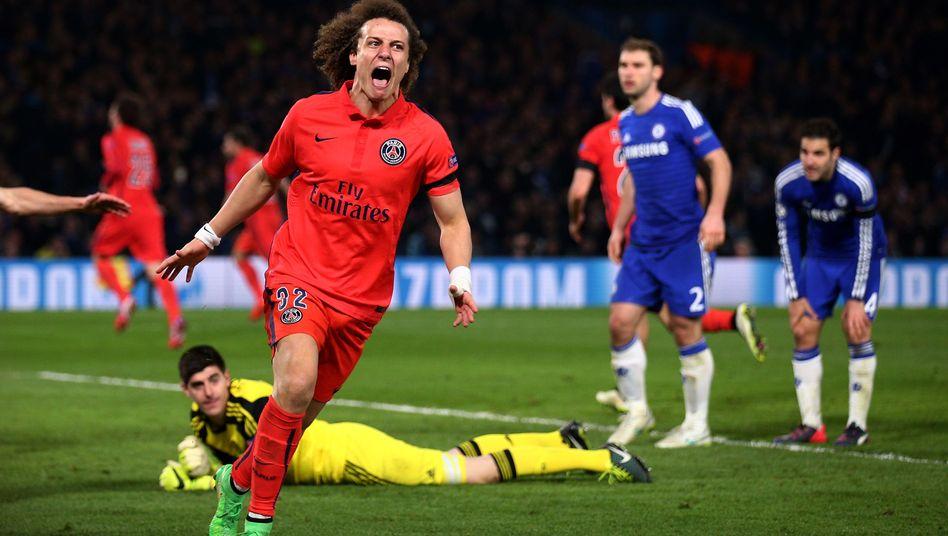Paris-Star Luiz: Chelsea mit Wucht rausgeworfen