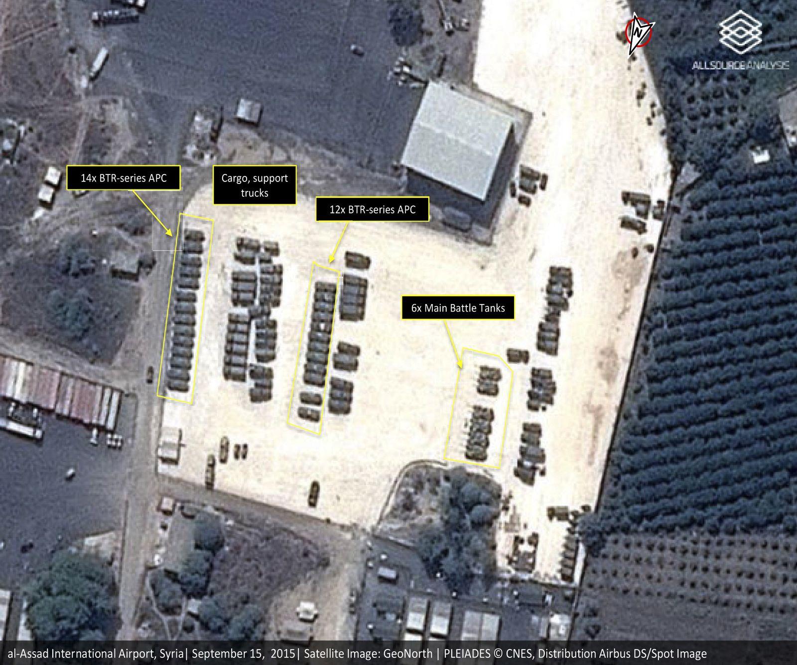 EINMALIGE VERWENDUNG Syrien/ Russland