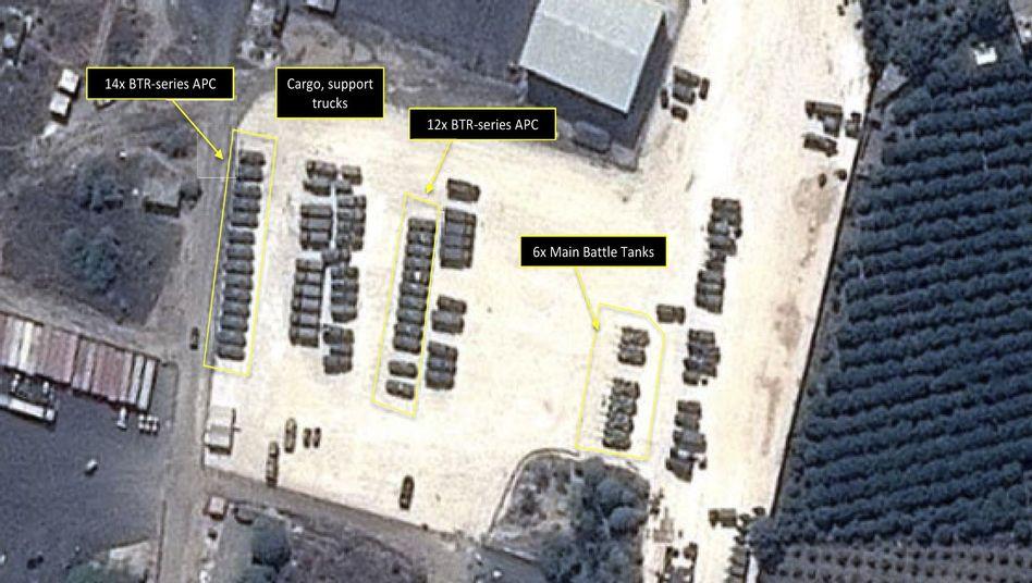 Russischer Stützpunkt in Latakia (Archivfoto): Verstärkte Schlagkraft