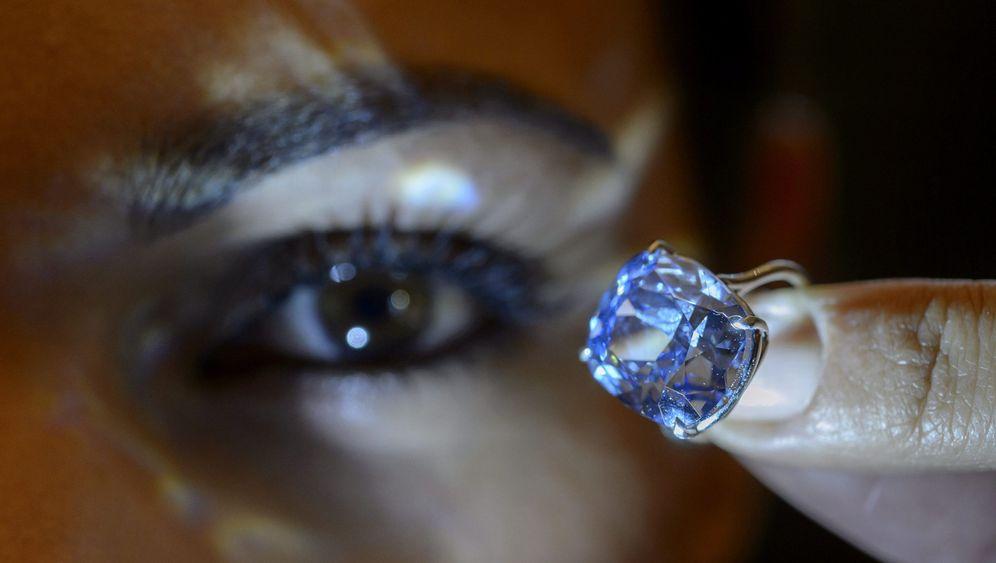 Auktion: Der teuerste blaue Diamant der Welt