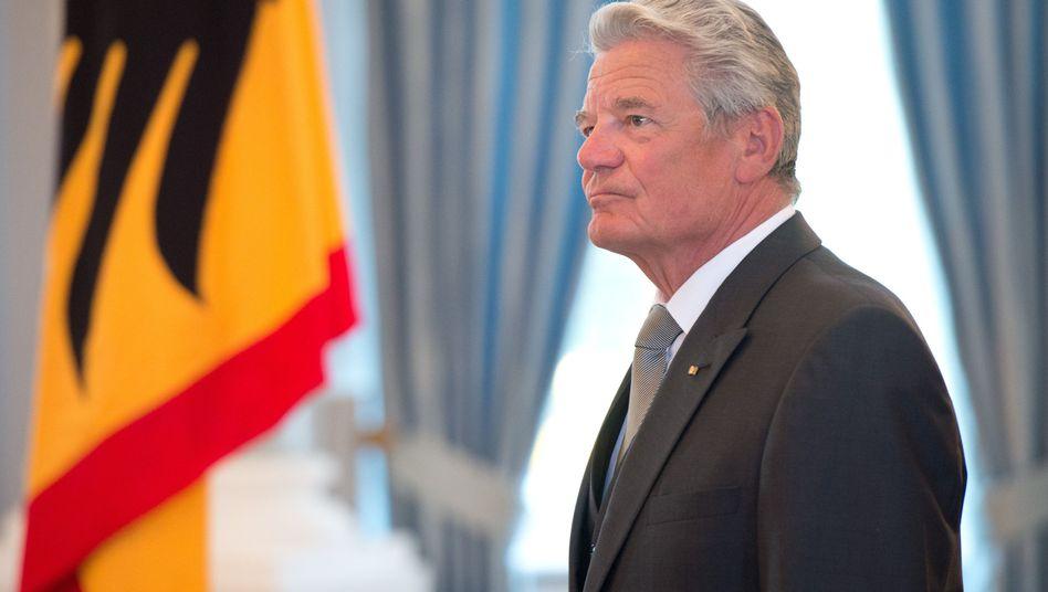 Bundespräsident Gauck: Treffen mit den Parteivorsitzenden