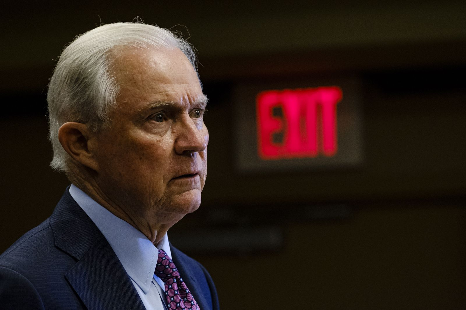 Jeff Sessions loses run-off election to Tommy Tuberville, Mobile, USA - 14 Jul 2020
