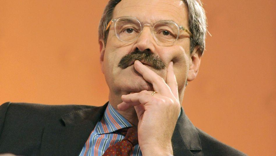 ZDF-Chefredakteur Nikolaus Brender: Er weiß selbst, dass er zum Diplomat nicht taugt.