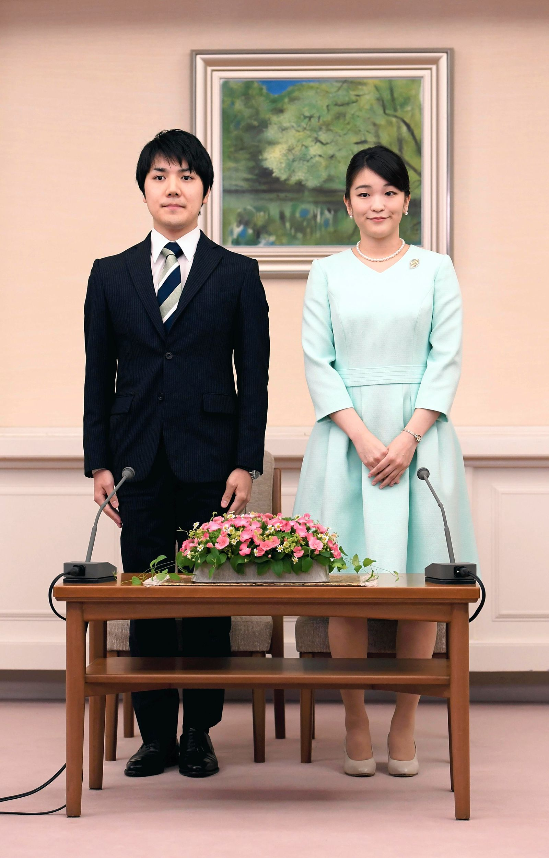 Princess Mako intends to marry her boyfriend