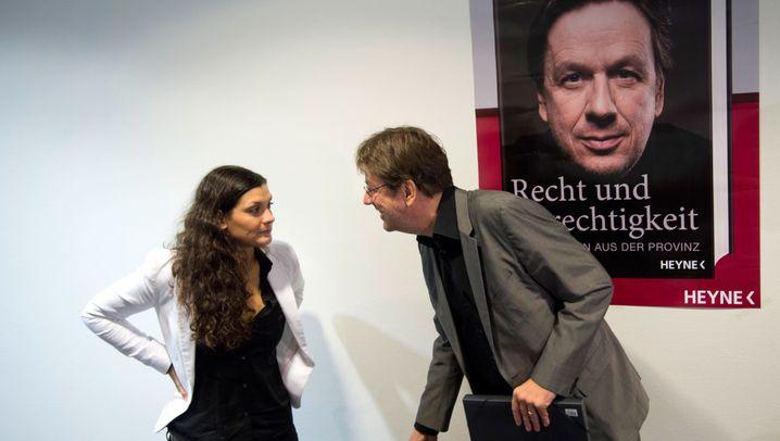 """""""Recht und Gerechtigkeit"""": Die Kachelmanns auf der Frankfurter Buchmesse"""