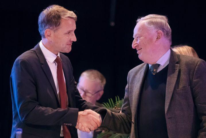 Björn Höcke, Alexander Gauland
